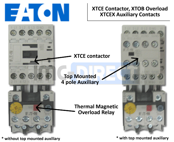 XTCE Frame B Contactor