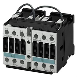 siemens 3ra13248xb301ac2 12 amp reversing contactor with