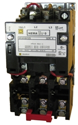 Square D 8536SBO2S Size 0 NEMA rated    starter    with a